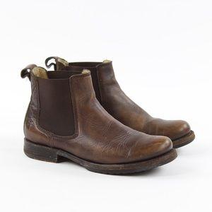 FRYE Women's Veronica Chelsea Maple Boots Booties